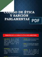 CODIGO DE ETICA PARLAMENTARIA PERU