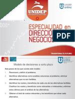 6 SEM 2 TEMA 5modelo y principales decisiones(1).ppsx