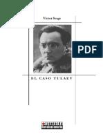 Victor Serge - El Caso Tulaev