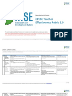 rise-teacher evaluation