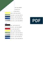 New Beetle Paint Colors
