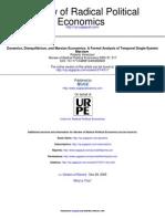 Review of Radical Political Economics 2005 Veneziani 517 29