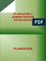 Planeacion y Administracion Estrategica