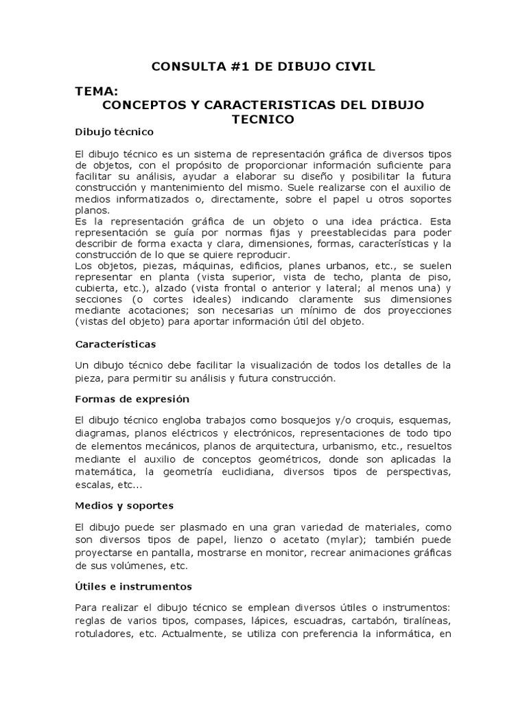 COnSULTA DE DIBUJO CIVIL