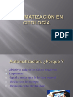 Automatización en Citología