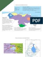Mapa de las cuencas hidrográficas de Venezuela