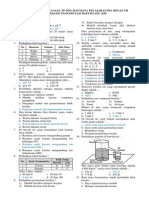 Soal Latihan UUS Gasal Mapel IPA Kelas VII MTs HA 2013