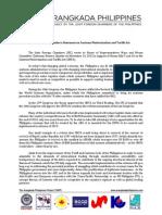 Customs Modernization and Tariffs Act Amendments - JFC Statement