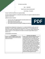 science lesson 2 habiats- revised