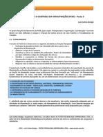 Planejamento e Controle Da Manutencao Pcm Parte 2 Tecem