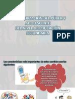 CARACTERIZACIÓN DEL PÚBER Y ADOLESCENTE