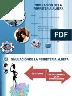 SIMULACIÓN DE LA FERRETERIA ALBEFA