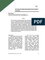 Pengukuran dan Evaluasi Kinerja Manajemen PNS di Daerah