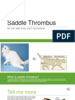 saddle thrombus