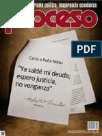 PROCESO, NÚM. 1935 01 DIC, 2013 AÑO UNO, AUTORITARISMO POLÍTICO, INOPERANCIA ECONÓMICA