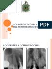 Accidentes y Complicaciones Del Tartamiento Endodontico