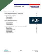 PFP Materials