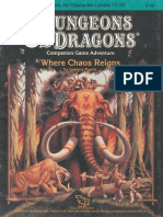 59417620 Dungeons Dragons TSR 9158 CM6 Where Chaos Reigns