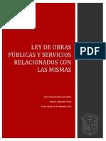Ficha de ley de obra pública federal