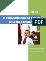 Programa Escuela y Salud