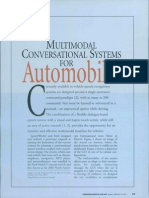 (2004) Multimodal Conversational Systems for Automobiles