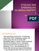 Etiologi Dan Epidemiologi Glumerulonefritis