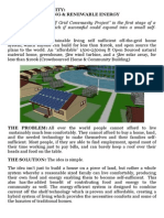 Model Proiect Off Grid Community