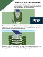 Aquaponics - Solar Powered Vertical Aquaponics System