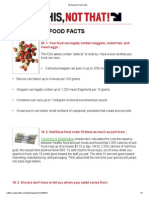 20 Scariest Food Facts