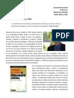 reseña crítica El pensamiento Lateral Edward de Bono