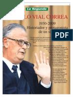 Don Gonzalo Vial Correa 1930-2009