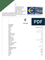 Euro Sign - Wikipedia, The Free Encyclopedia