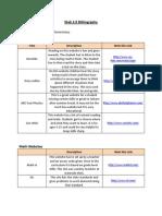 web 2 0 bibliography