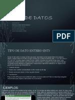 los tipos de datos exposicion1