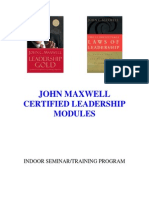 john maxwell leadership modules 2