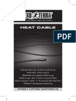 Heat Cable Instruction Manual