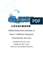 HKDSE Mathematics (Module 1) Topic 5