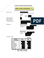 Contoh Profil Multifinance Ind