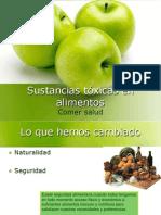 Sustancias Toxicas en Alimentos