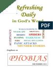 Emphasis on Phobias