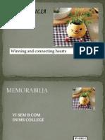 Memorabalia