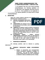Kendriya Vidyalaya Admisions Guideline