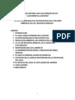EL RESPONSABILIDAD CIVIL ESTRACONTRACTUAL POR DAÑO AMBIENTAL EN LOS  RECURSOS HÍDRICOS- JONATHAN DANIEL PALOMINO ZUMAETA