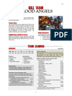 Kill Team List - Blood Angels v1.5