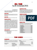 Kill Team List - Chaos Daemons v2.0