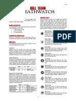Kill Team List - Deathwatch v2.1