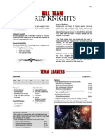 Kill Team List - Grey Knights v1.1