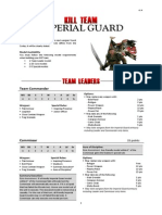 Kill Team List - Imperial Guard v1.4