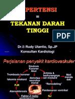 Hipertensi by. Dr. Rudy Utantio, Sp.jp