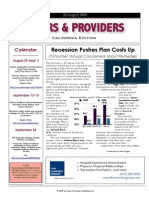 Payers & Providers 8/20/09